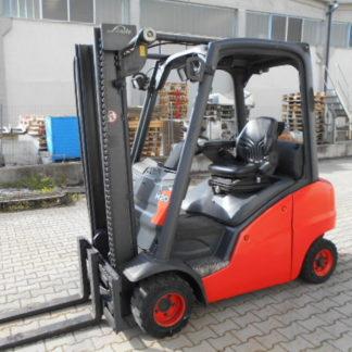Carrello elevatore Linde H20 modello 391 anno 2011 simplex 3150mm completo di traslatore. MotoreVW e trasmissione idrostatica