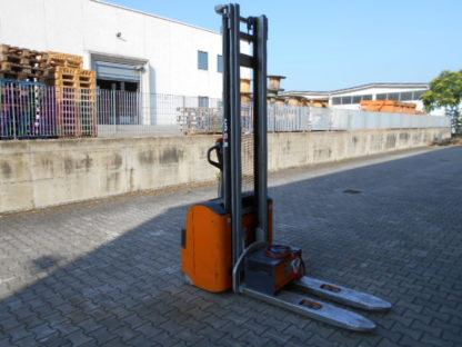 Carrello elevatore stoccatore Still EGV16 anno 2014 simplex 4120mm batteria 24V forche 1150x560mm