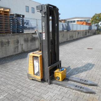 Carrello elevatore stoccatore Atlet TS140 anno 2010 triplex 4800mm forche 1150x560mm batteria 24v