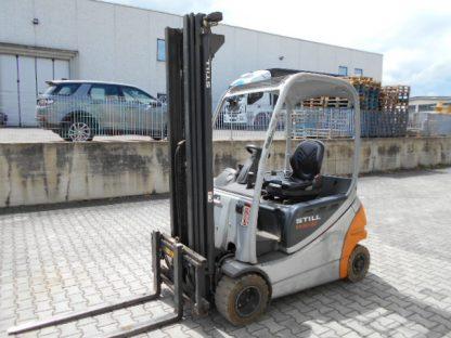 CARRELLO ELEVATORE USATO STILL RX20-20P ANNO 2010 TRIPLEX 500MM TRASLATORE E BATTERIA 48V